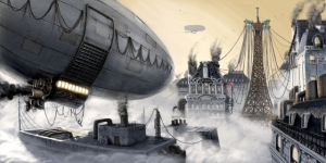 640x320_3831_Paris_at_the_20th_Century_2d_dirigible_steampunk_fantasy_picture_image_digital_art